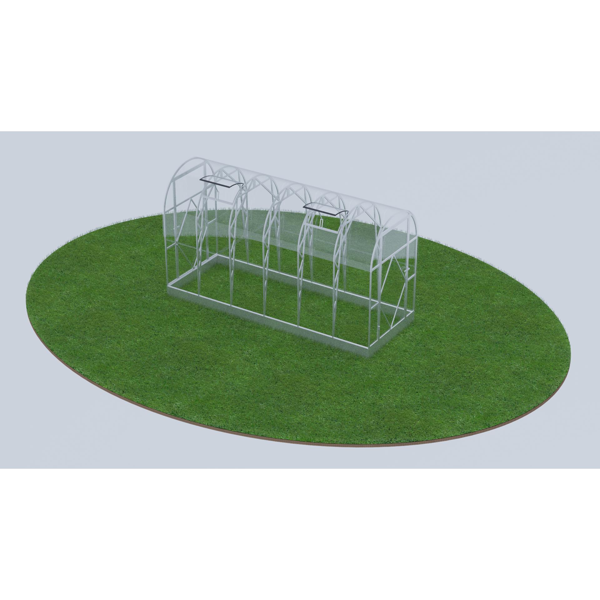 kaarkasvuhoone ecoslider es 1 5 ecoslider. Black Bedroom Furniture Sets. Home Design Ideas